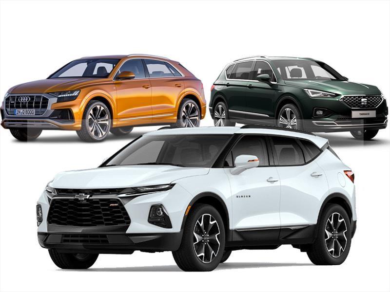 Las SUVs y crossovers que llegan a México durante 2019