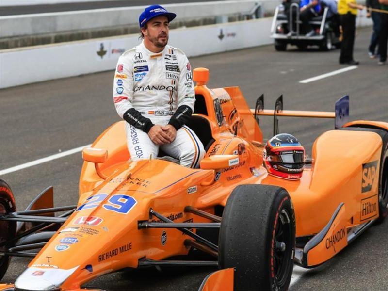 Alonso con la mira en las Indy 500 2019