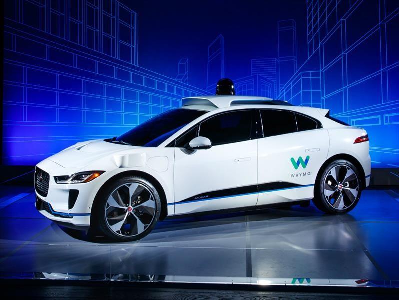 Waymo Jaguar I-Pace EV es un taxi que no necesita conductor