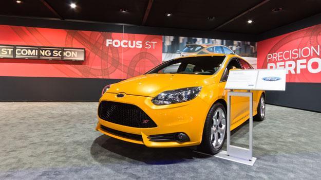 Ford Focus ST 2013 en el Salón de Los Angeles