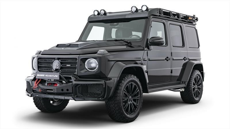 Brabus Adventure, la Mercedes-Benz Clase G extiende sus límites