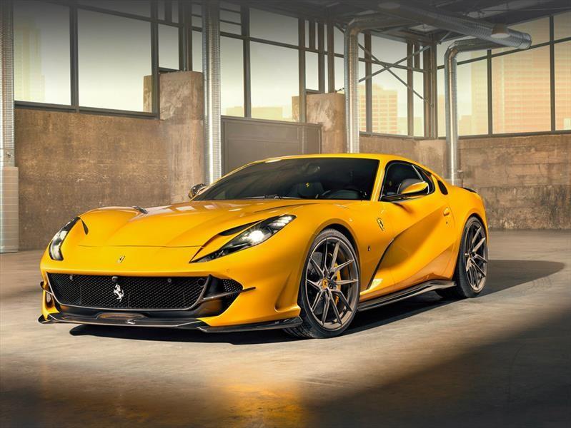 Ferrari 812 Superfast by Novitec: poderoso deportivo italiano