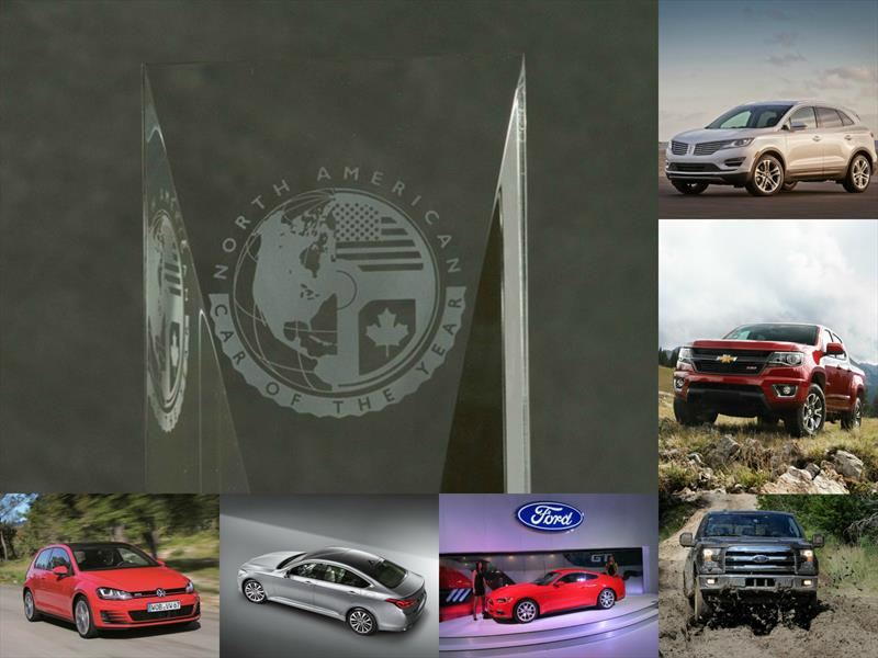 Los 6 finalistas del North American Car and Truck of the Year 2015