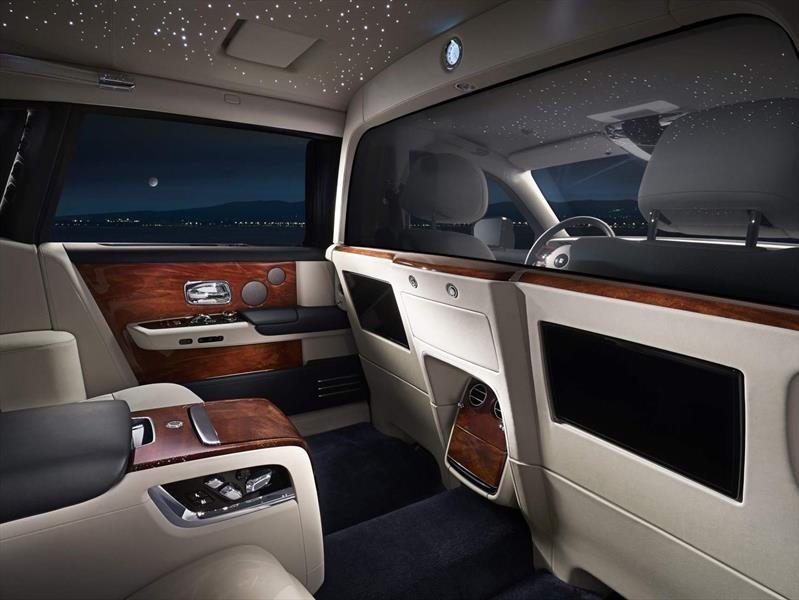 Rolls-Royce crea una suite privada para el Phantom