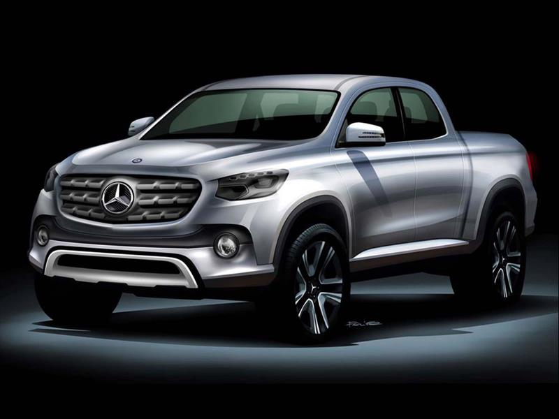 Mercedes-Benz fabricará una pick-up