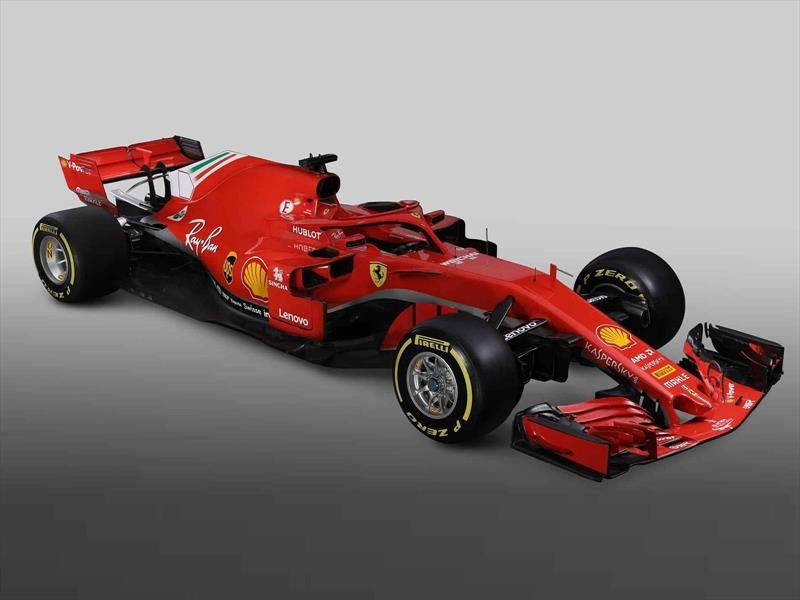 Ferrari SF71H listo para la F1 2018