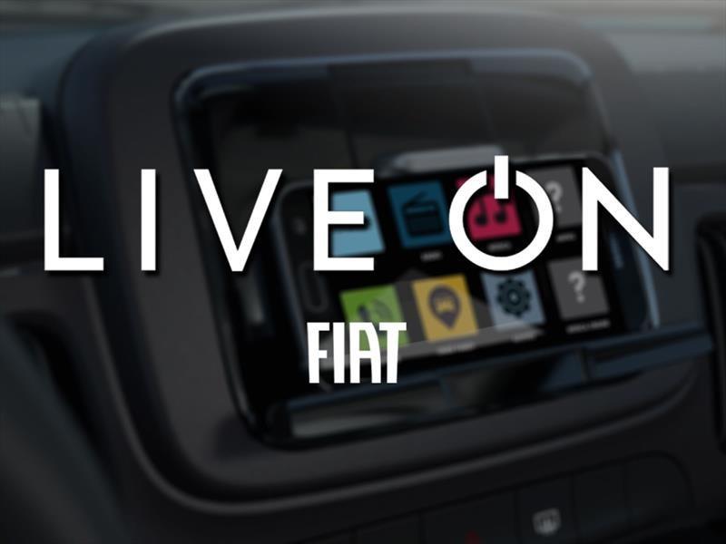 FIAT LIVE On, tu teléfono se convierte en el sistema de ...