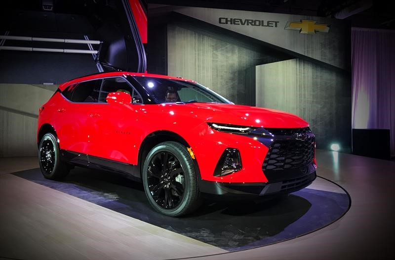 Chevrolet Blazer 2019 regresa