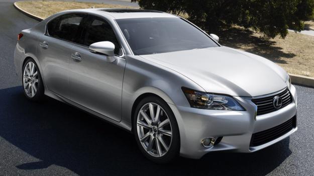Lexus GS 2012 completamente renovado