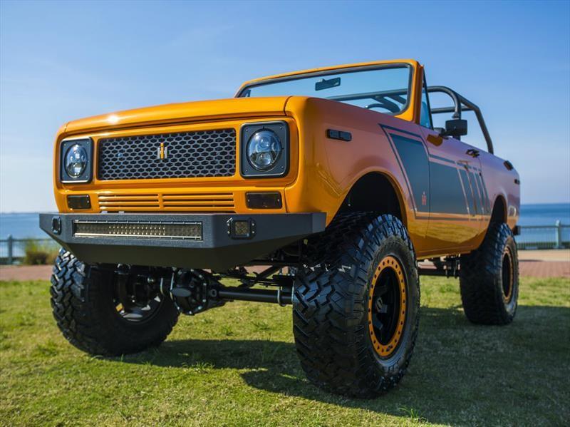 Ford Bronco Scout International... ¡con un motor de Chevrolet!