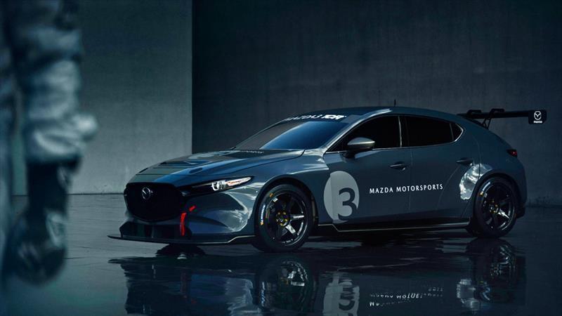 Mazda3 TCR es un Mazda3 exclusivo para usarse en pistas
