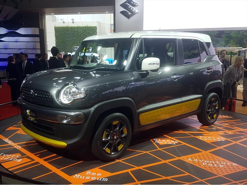 Suzuki XBee, un SUV pequeño destinado al off-road