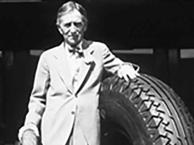Harvey Firestone y su mundo de las llantas