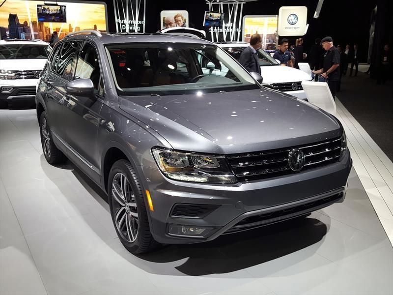 Volkswagen Tiguan Allspace 2018 debuta