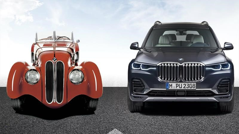 Así ha evolucionado la clásica parrilla de doble riñón de BMW