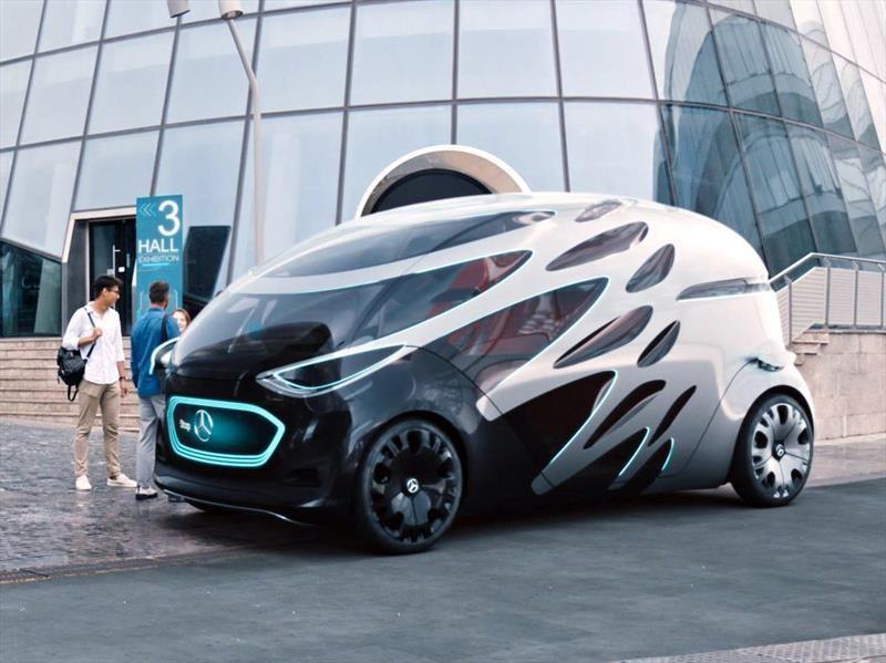 Mercedes-Benz Vision Urbanetic: el volante, los pedales y el tablero son cosas del pasado