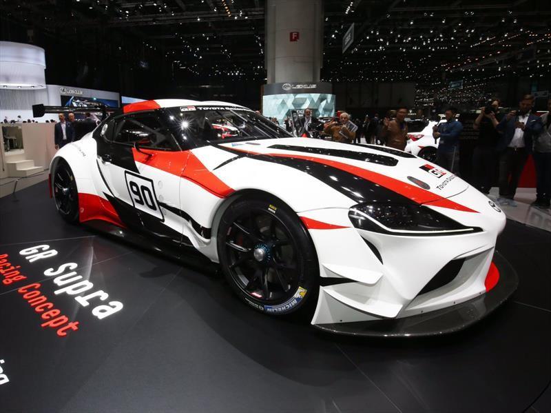 Toyota GR Supra Racing Concept debuta