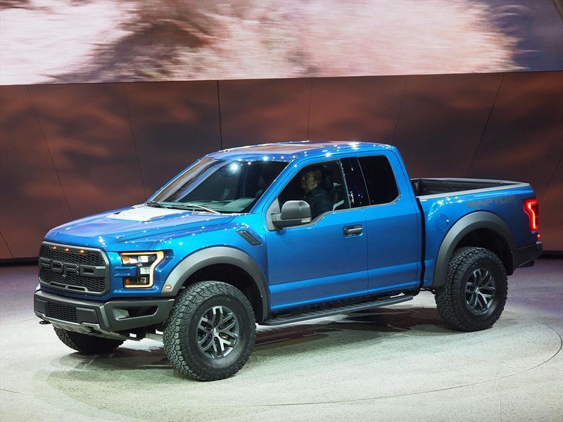 Sal n de detroit 2015 la nueva ford f 150 raptor se for Salon de la bd 2017