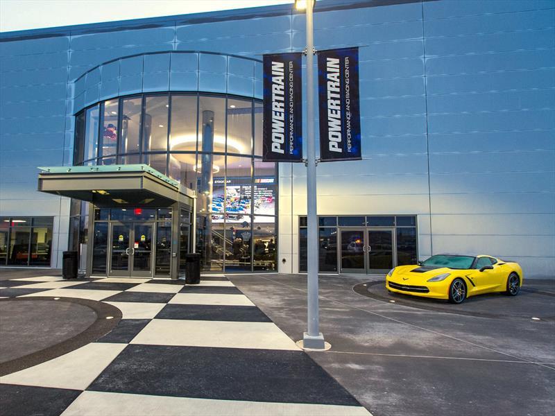 Conoce el GM Powertrain Performance and Racing Center