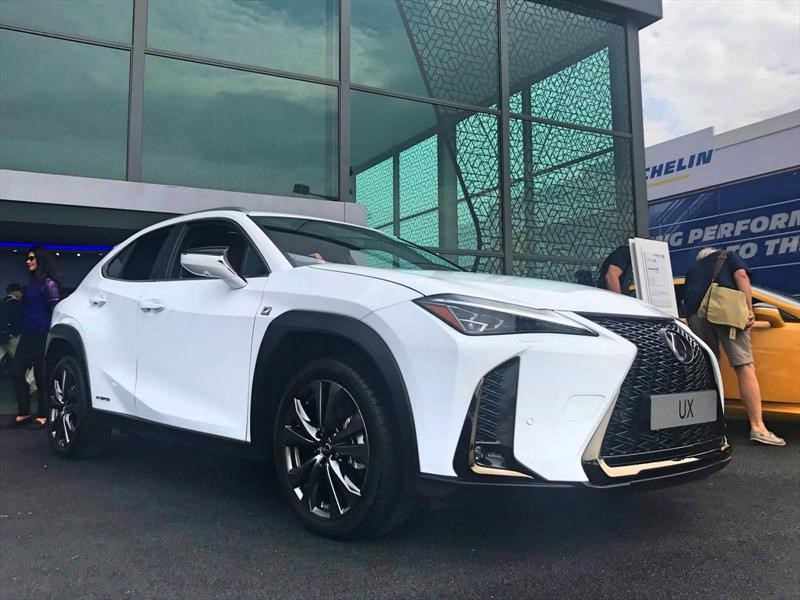 Lexus UX 2019 se presenta en Goodwood 2018