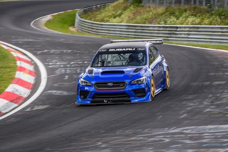 Subaru WRX STI Type RA NBR Special 2018 es el sedán más veloz en Nürburgring