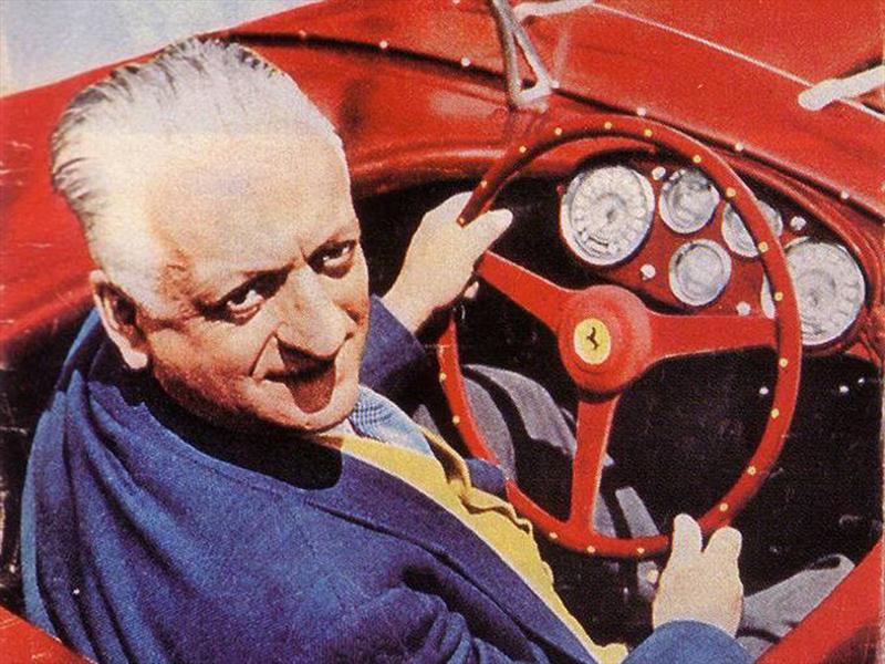 Enzo Ferrari Toda Una Leyenda En La Historia Del