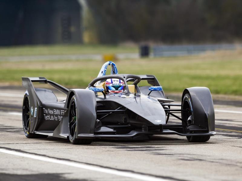 BMW iFE.18, el eléctrico que competirá en Formula E
