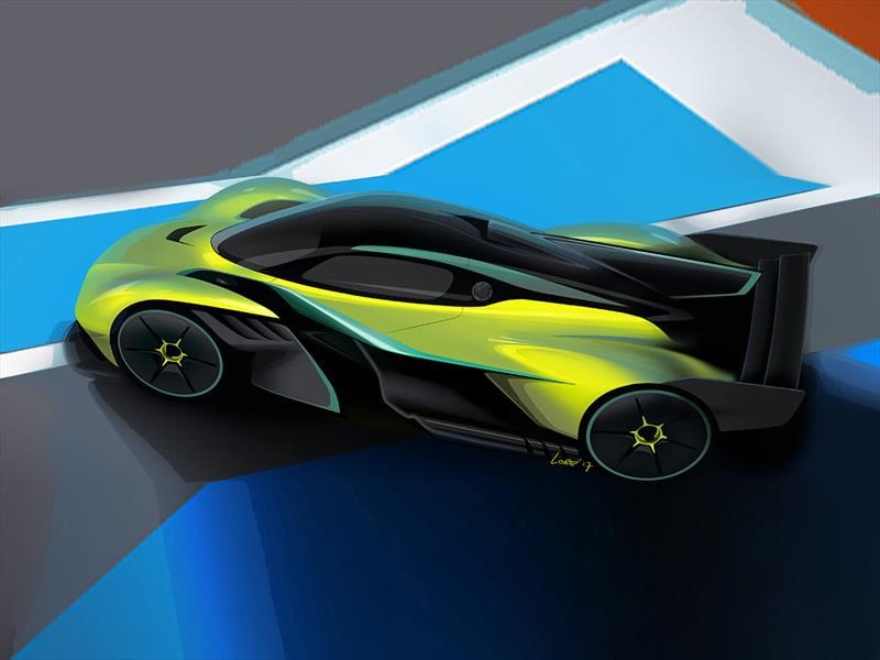 Aston Martin Valkyrie AMR Pro, a la altura de un Fórmula 1