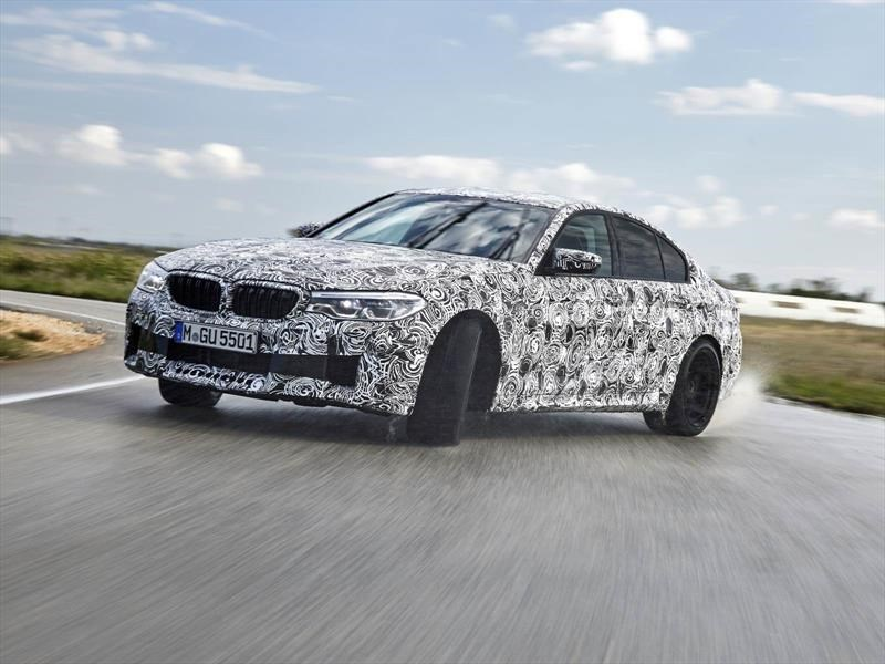 Video: el BMW M5 2018 luce impresionante