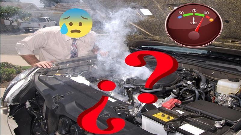 Porque sale humo del radiador