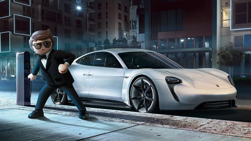 Porsche Mission E hace su aparición en Playmobil: The Movie