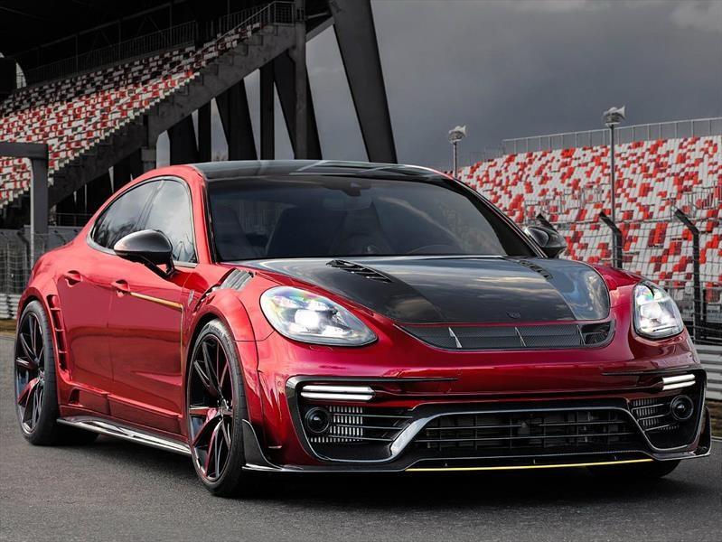 Porsche Panamera por Mansory, imagen extrema