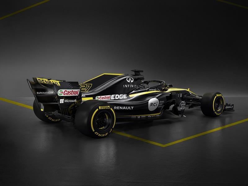 Renault RS18 con el objetivo de destacar en la F1 2018