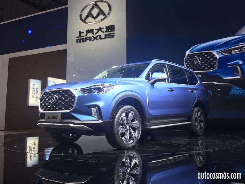 Maxus presenta un nuevo SUV