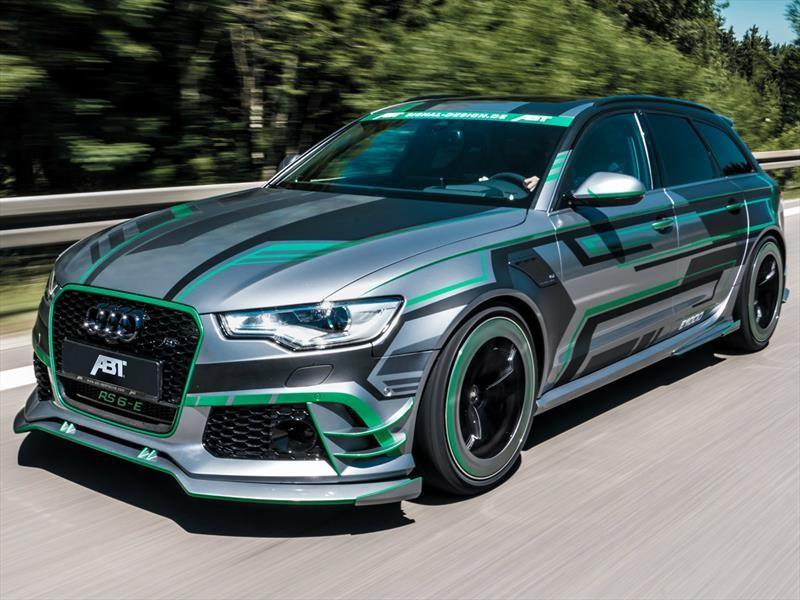 Audi RS6-E Hybrid Concept por ABT debuta