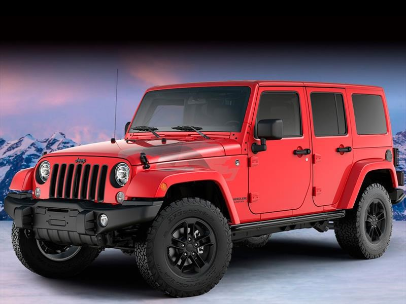 Jeep Wrangler Unlimited Sahara Winter Edition 2017 llega a México en $749,900 pesos