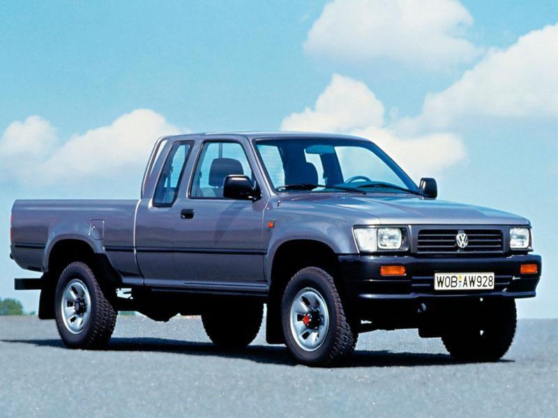 Un viaje por la historia de las pick-ups de Volkswagen