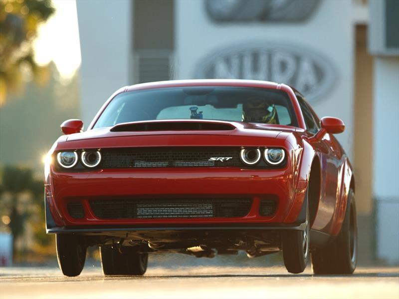 Dodge Challenger SRT Demon 2018 cuesta $84,995 dólares