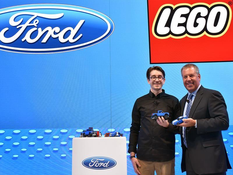 Ford Mustang y Lobo Raptor de LEGO, diversión sin límite