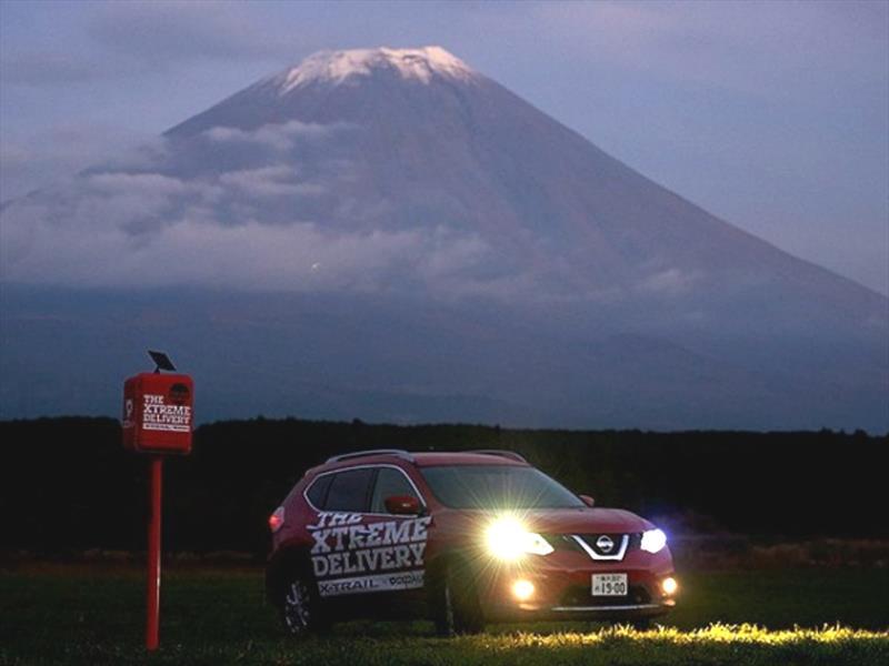 Video: Nissan X-Trail entrega pizzas en los lugares más difíciles