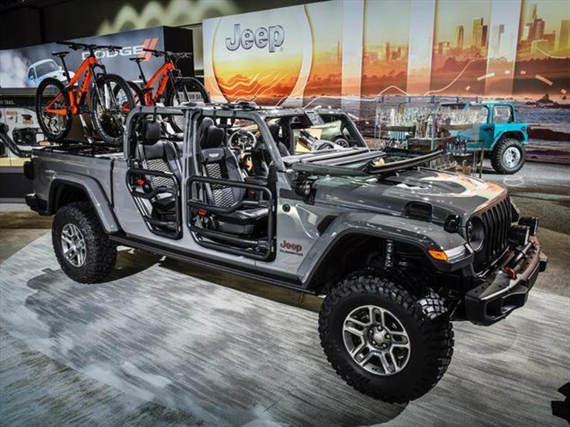 Mopar desarrolla más de 200 piezas y accesorios para el Jeep Gladiator 2020