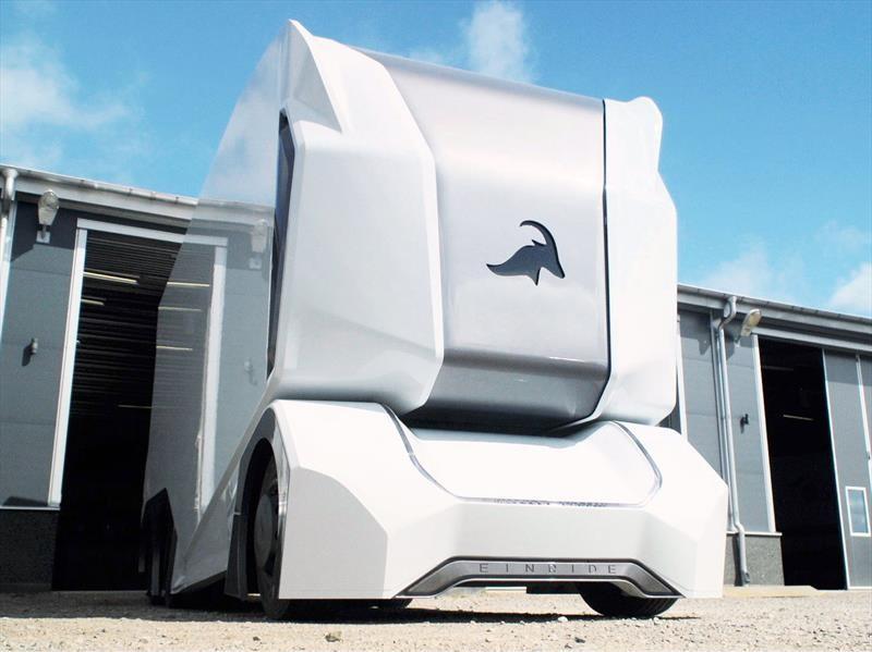 Einride T-Pod, un camión eléctrico que no necesita conductor