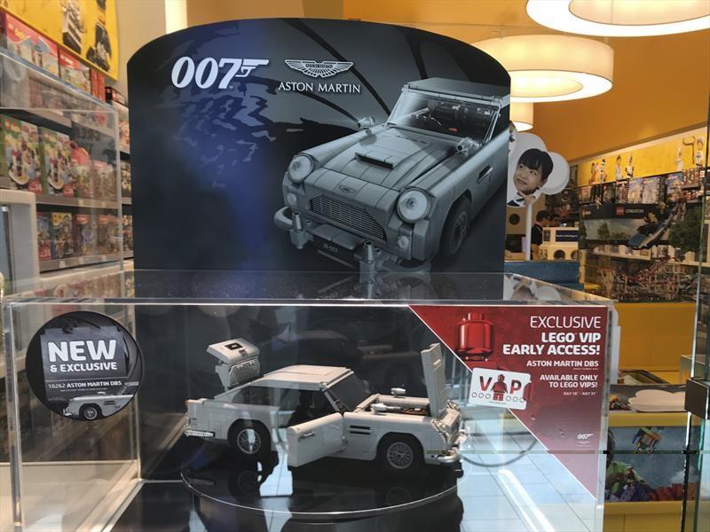 LEGO presenta el Aston Martin DB5 de James Bond