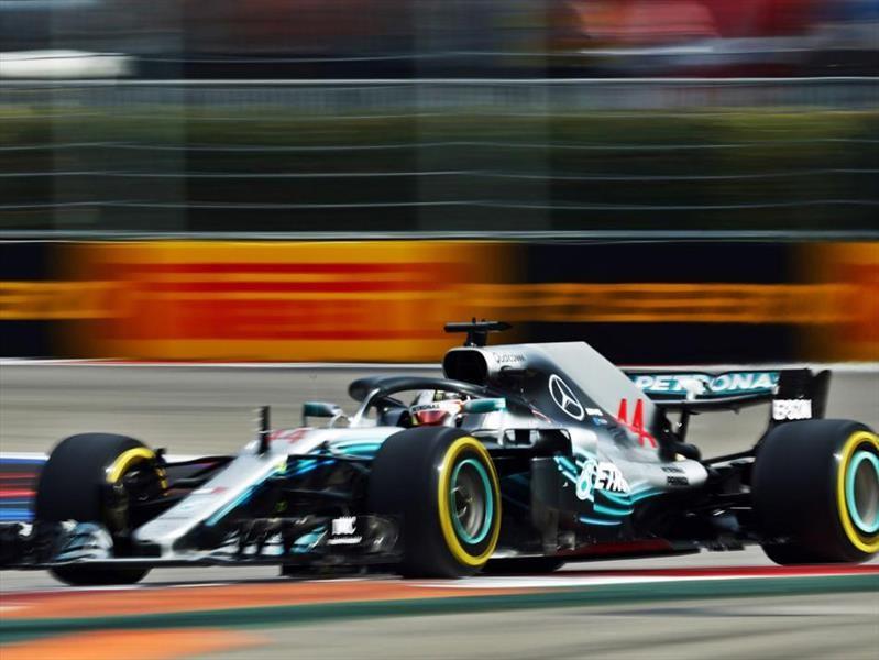 Hamilton acaricia su quinto campeonato de F1 en el GP de Rusia 2018