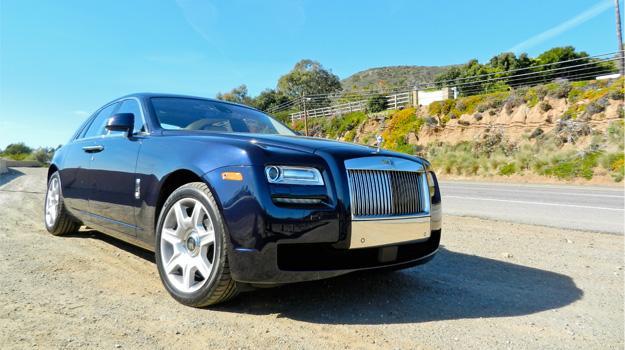 Rolls Royce Ghost 2012 a prueba