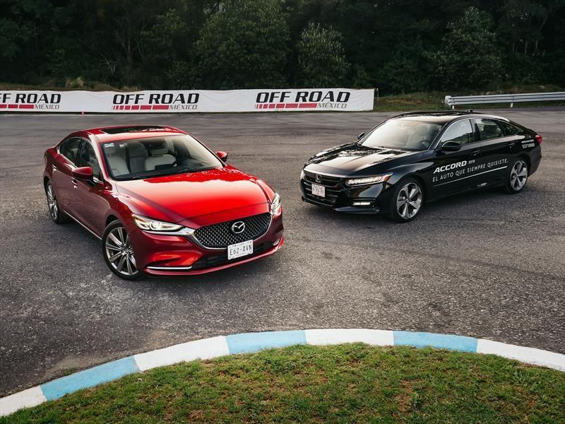 Frente a frente: Honda Accord 2018 vs Mazda 6 2019