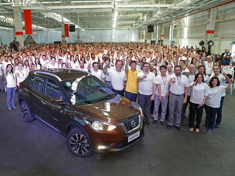 Arranca la producción de la Nissan Kicks