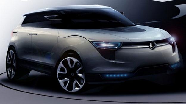 SsangYong  XIV-1 Concept debuta en el Salón de Frankfurt 2011