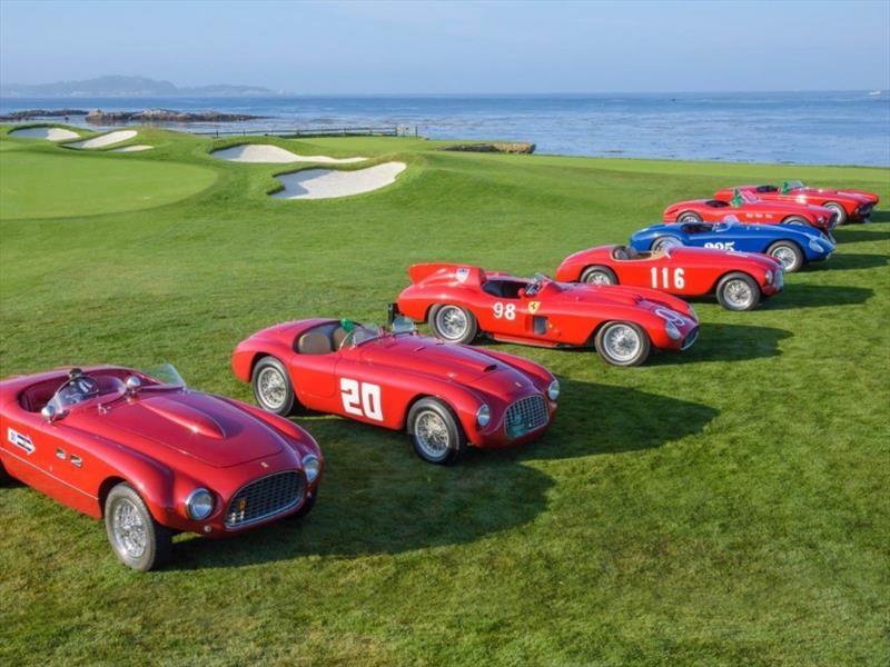 Ferrari prepara una tremenda muestra en Pebble Beach