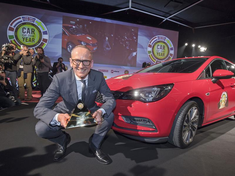 Opel Astra es el European Car of The Year 2016